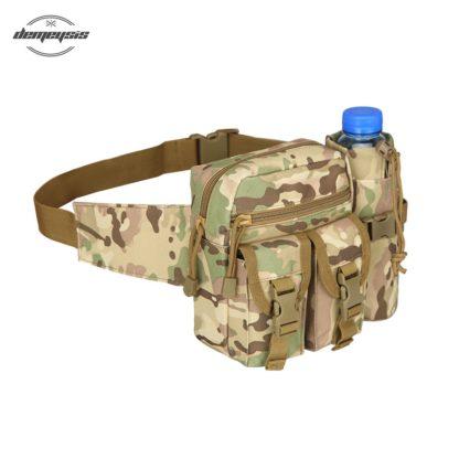 Sacoche de ceinture motif camouflage