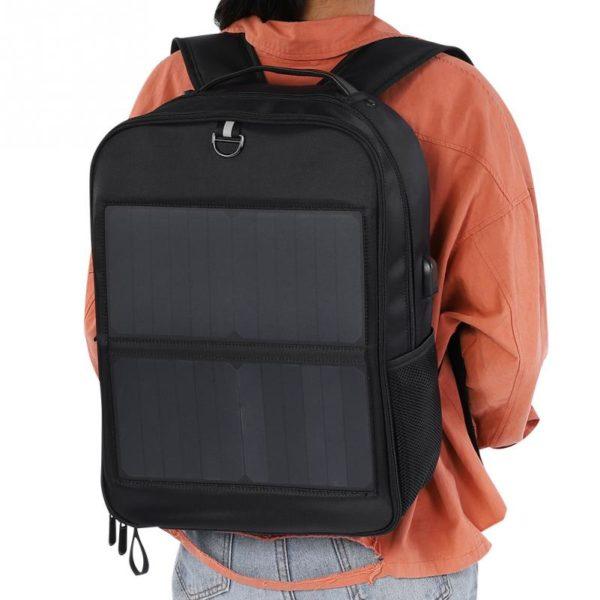 sac à dos avec chargeur solaire intégré