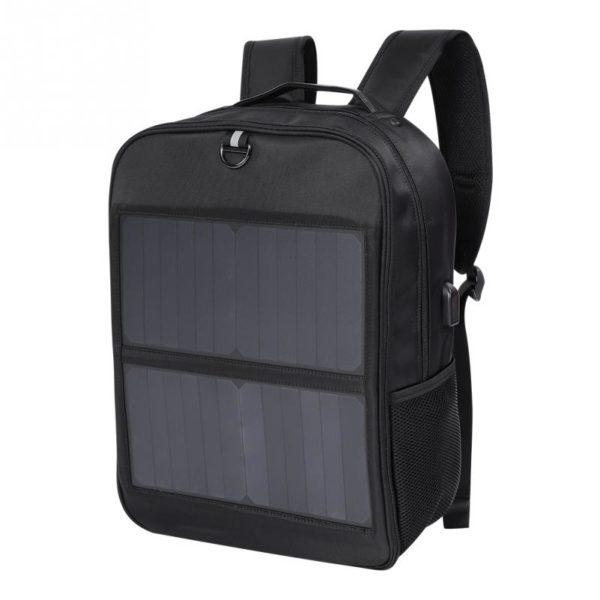 Sac à dos avec large chargeur solaire intégré