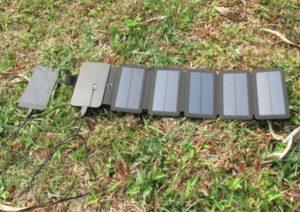 Chargeur-solaire-randonnee-pliable