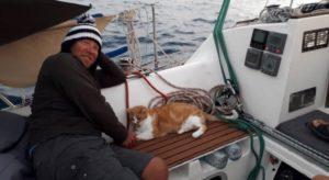 La transatlantique du chat Gazou