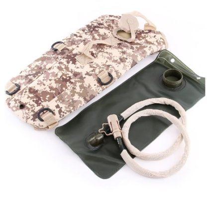 Sac à dos respirant avec poche à eau camelback militaire