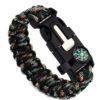 Bracelet paracorde camouflage