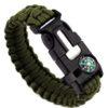 Bracelet paracorde kaki