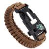 Bracelet paracorde marron