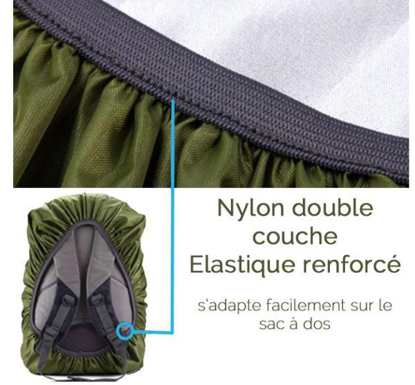 Protection de sac à dos réfléchissante