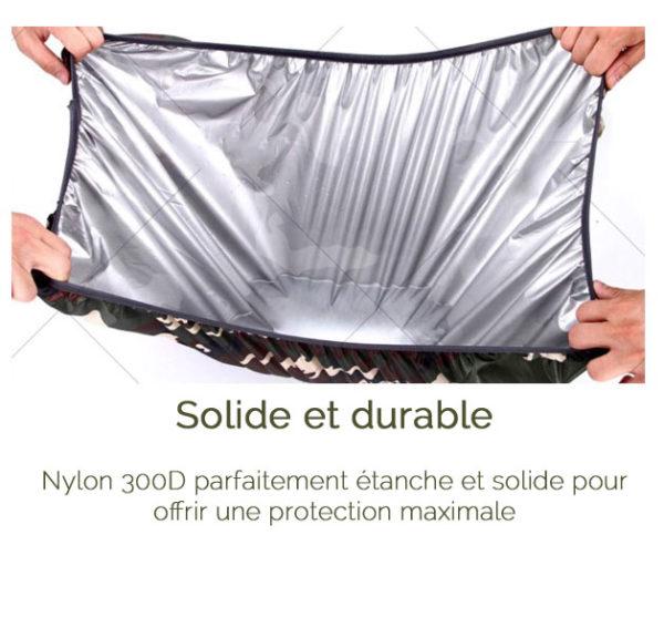 Protection de pluie réfléchissante pour sac à dos