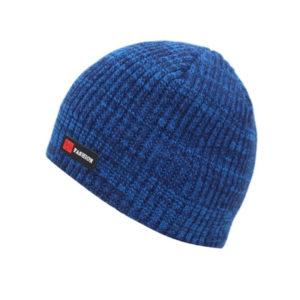 Bonnet bleu intérieur polaire