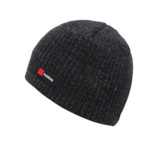 Bonnet noir intérieur polaire