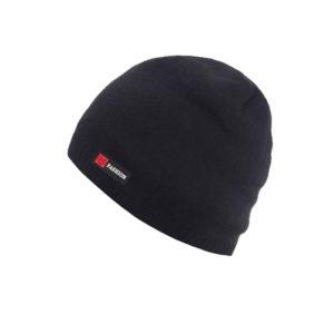 Bonnet noir intérieur fourrure