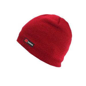 Bonnet rouge intérieur fourrure