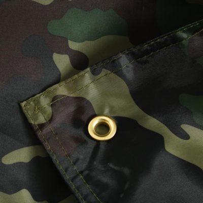 Tarp bushcraft motif camouflage
