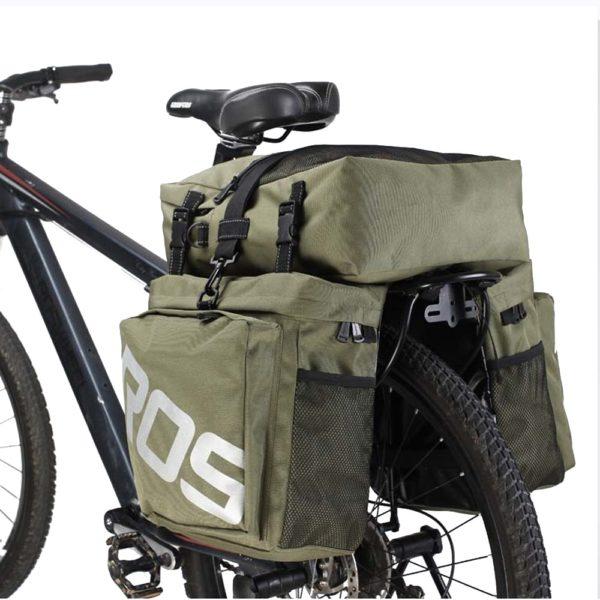 Sacoche vélo imperméable pour porte bagage