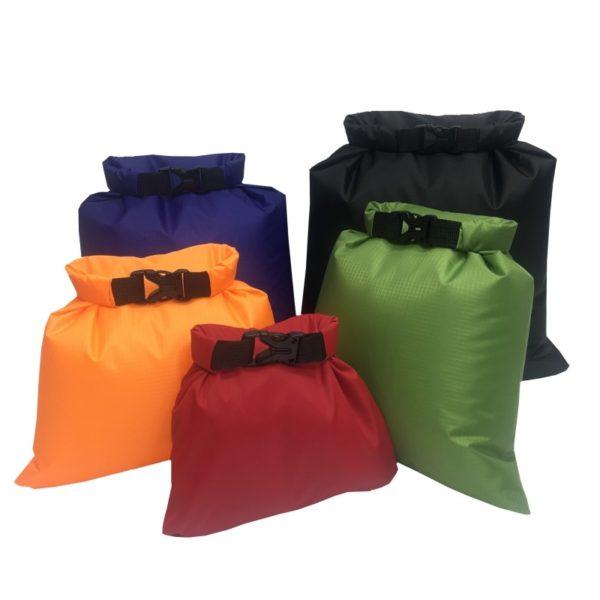 Ensemble de 5 sacs étanches pour la randonnée à petit prix