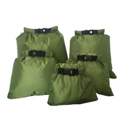 Ensemble de 5 sacs étanches de différentes tailles