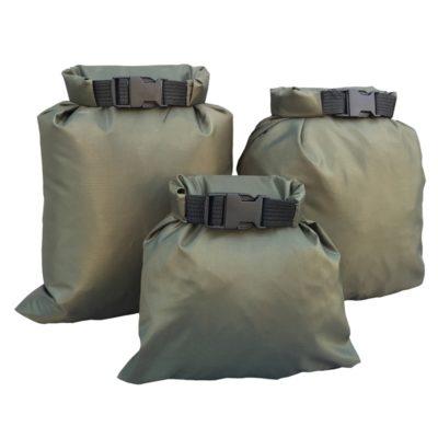 Ensemble de sacs étanches en tissus enduit de silicone