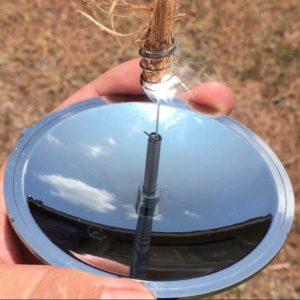 Allume feu solaire