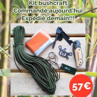 Kit bushcraft à bas prix