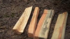 comment préparer un feu dans la nature