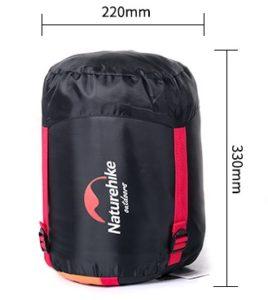 Sac de couchage avec sac de compression et sangles