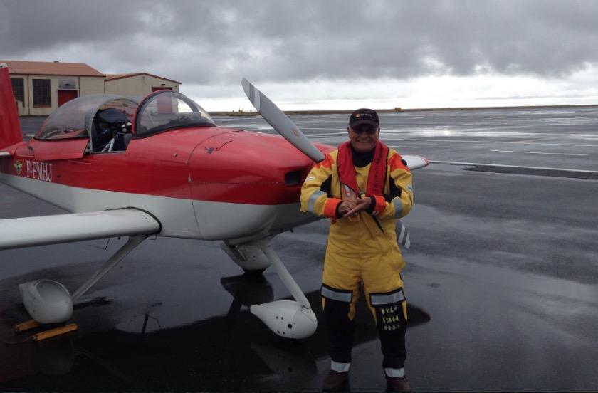 Tour du monde en avion léger RV-8 à 75 ans