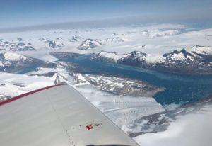 Vol au dessus du Groenland en RV8